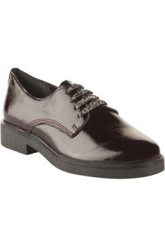 Chaussures Miglio Chaussures à lacets femme - - Rouge bordeaux verni - 35(127981192)