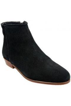 Bottines Bobbies Boots La Sauvageonne Noir(88617058)
