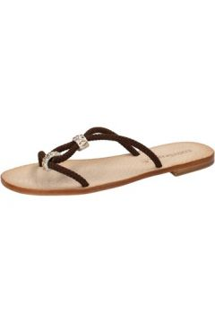 Sandales Eddy Daniele sandales brun foncé corda swarovski ax755(115442435)