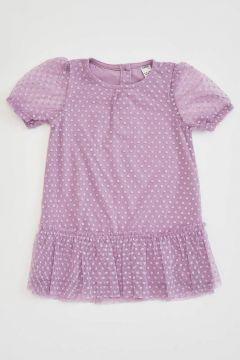 DeFacto Kız Bebek Tül Detaylı Elbise(119063946)