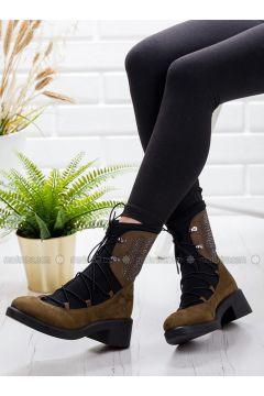Khaki - Boot - Boots - Ayakkabı Frekansı(110322690)