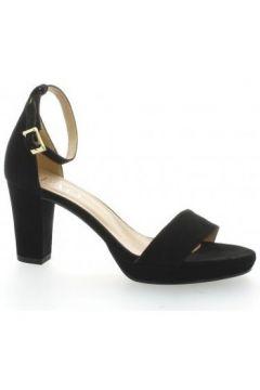 Sandales Brenda Zaro Nu pieds cuir velours(127908356)