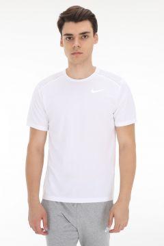 Nike M Nk Dry Mıler Top Ss Erkek T-Shirt Beyaz(127364359)