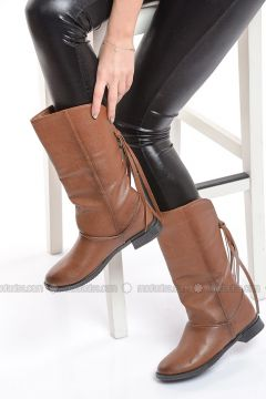 Tan - Boot - Boots - Shoestime(110342627)