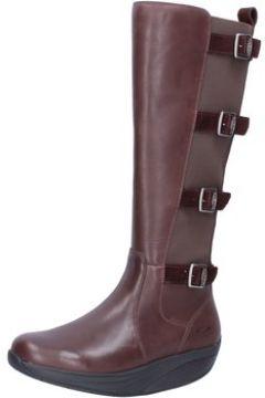 Bottes Mbt bottes marron cuir textile BT292(115470530)