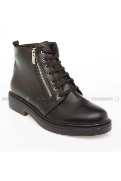 Black - Boots - DeFacto(110328817)