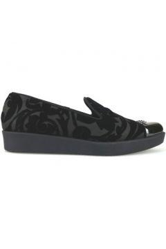 Chaussures Jeannot slip on noir daim AJ86(115399682)