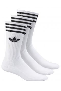 adidas Solıd Crew Sock Unisex Çorap Beyaz(116607791)