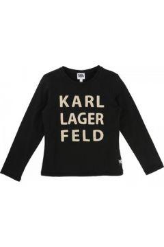 T-shirt enfant Karl Lagerfeld T-shirt manches longues noir(98529204)