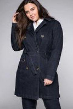 Sheego Trenchcoat Sheego dark blue Denim(111501403)