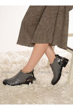 Gray - Boot - Boots - Shoestime(110314757)