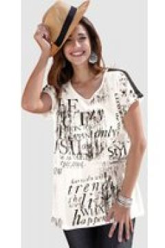 Shirt MIAMODA Off-white/Beige/Schwarz(120616971)