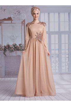 Robe De Soirée Modeste Nurkombin Doré(127842941)