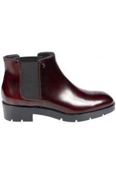 Boots Tod\'s Boots Lena Vernis Bordeaux(88550174)
