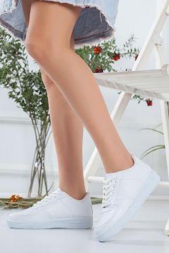 HAYATINIZI KOLAYLAŞTIRIN Kadın Beyaz Spor Ayakkabı(118648236)