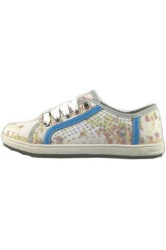 Chaussures enfant Laura Biagiotti sneakers multicolor toile strass AH986(115400556)