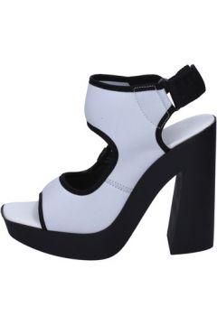 Sandales Vic sandales blanc textile BT272(115442770)