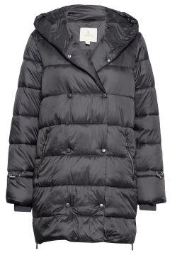 Jacket Outerwear Heavy Gefütterter Mantel Schwarz BRANDTEX(114151814)