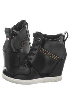 Sneakersy Dressy Sneaker Wedge FW0FW04153 990 Black (TH71-a)(114730613)
