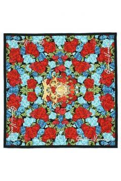 Versace Kadın Colorblocked Çiçek Desenli İpek Eşarp EU(121159612)