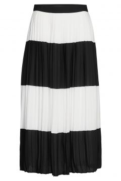 Alia Carmen Skirt Knielanges Kleid Schwarz BRUUNS BAZAAR(108013924)