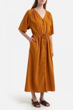 Vestido VICTOU entallado y abotonado(114091059)