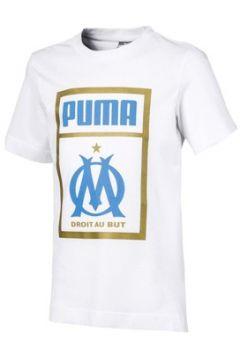 T-shirt enfant Puma T-shirt Om Fan Shoetag(115552285)