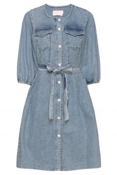 Brookekb Denim Dress Kurzes Kleid Blau KAREN BY SIMONSEN(116667571)