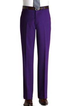 Pantalons de costume Kebello Pantalon en polyester H Violet(115408763)