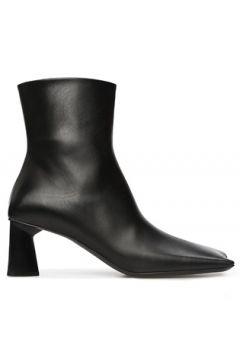 Balenciaga Kadın Siyah Burun Detaylı Deri Bot 40 EU(118330433)