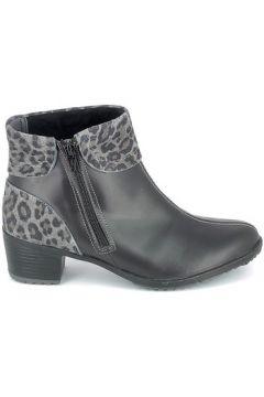 Bottines Boissy Boots Noir Leopard(101734916)