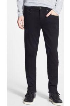 Jeans Kebello Jeans coupe classique H Noir(115629904)
