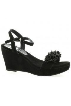 Sandales Elizabeth Stuart Nu pieds cuir velours(98530325)