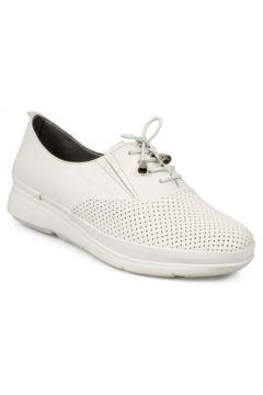 Stella Kadın Beyaz Casual Bağlı Ayakkabı 20257(110950068)