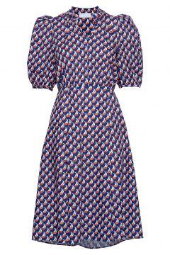 Linh Long Dress Kurzes Kleid Bunt/gemustert STORM & MARIE(116951480)