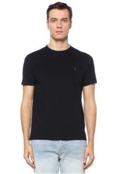 Allsaints Erkek Brace Tonic Regular Fit Lacivert T-shirt S EU(122167661)