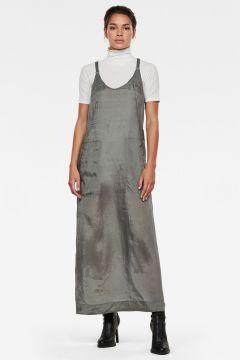 G-Star RAW Women Slip Dress Grey(117926582)
