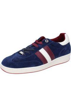 Chaussures D\'acquasparta sneakers bleu daim AB872(115393876)