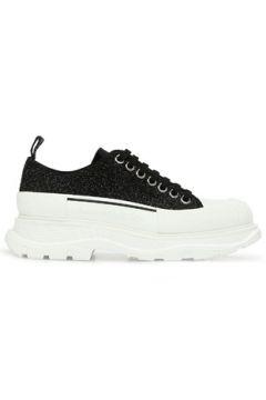 Alexander McQueen Kadın Siyah Deri Sneaker 35 EU(123320121)