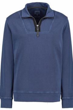 Camel Active: Sportliches Sweatshirt mit Stehkragen, 4XL, Blau(123979558)
