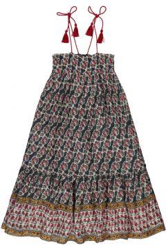 Kariertes Kleid Blumen Lurex Zoe(113867334)