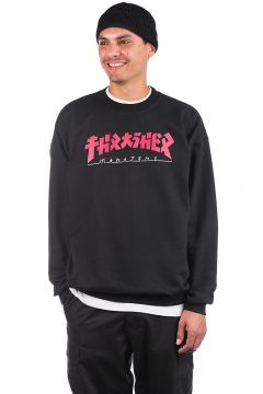 Thrasher Godzilla Crewneck Sweater zwart(108030455)
