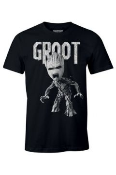 T-shirt Cotton Division T-shirt Les Gardiens de la Galaxie Marvel - Anger Groot(115446285)