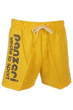 Short Panzeri Uni a jaune jersey short(127854412)