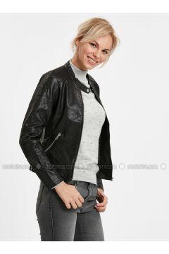 Black - Puffer Jackets - LC WAIKIKI(110318577)