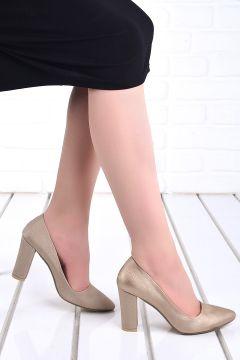 Ayakland Kadın Günlük 8 cm Topuk Çupra Ayakkabı 137029-311 20(120585760)