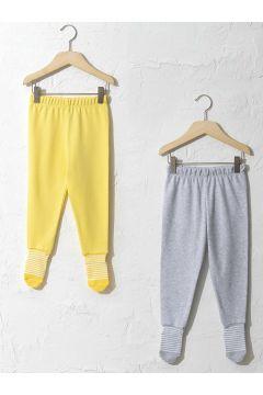 Bebek Kız Bebek Çoraplı Pijama Alt 2\'li(126710341)