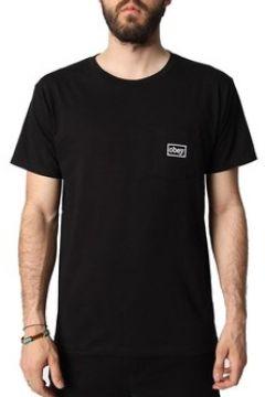 T-shirt Obey TYPEWRITTER NERA(115477237)