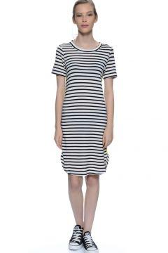 İchi Çizgili Elbise(125085832)