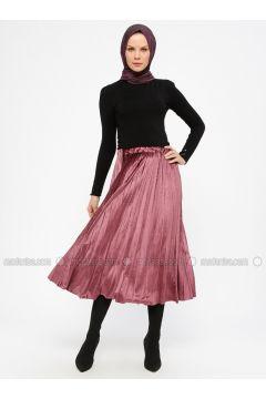 Dusty Rose - Unlined - Skirt - Laruj(110321857)